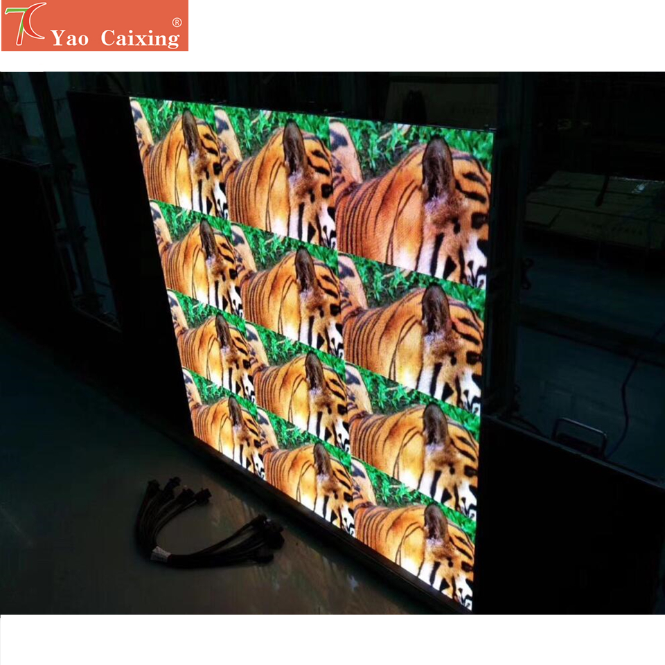 Dot Matrix P1.9 RGB LED Advertising Led Screen Die Cast Aluminum Cabinet Board  4k High Resolutions Hub75 Led Video Wall Smd1515