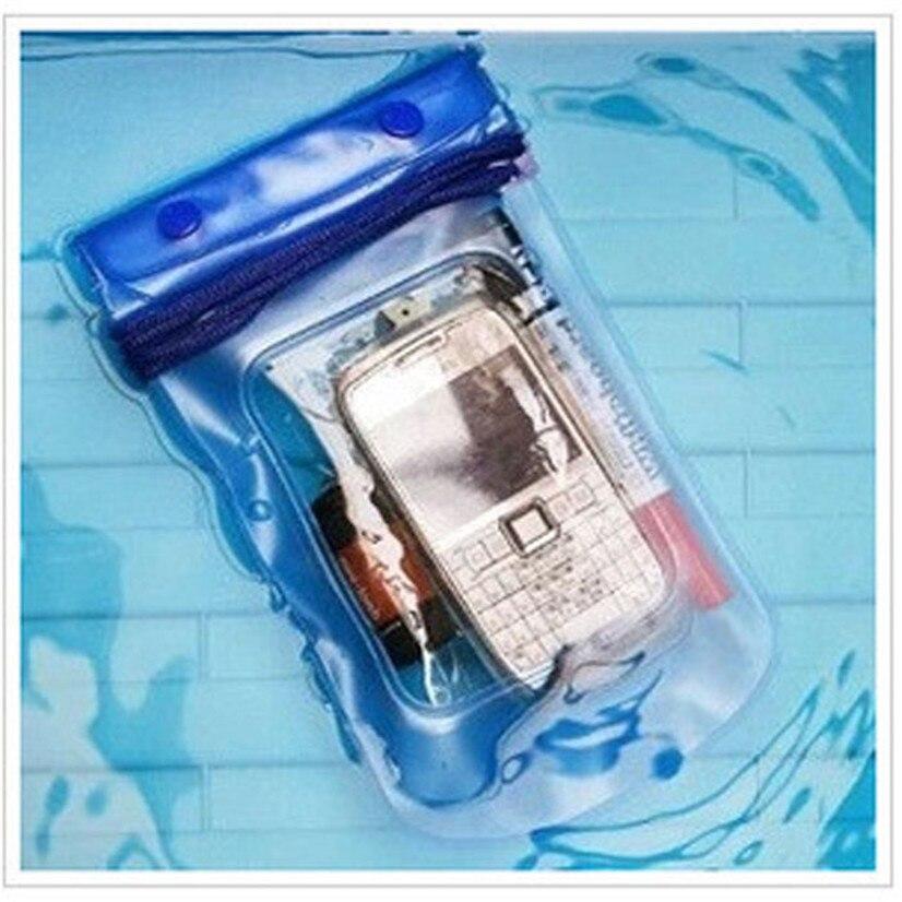 FishSunDay Новый Прозрачный Водонепроницаемая сумка-чехол сухой Чехол для всех сотовый телефон камера легкий компактный Прямая доставка August11