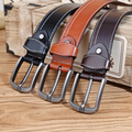 CATELLES Genuine Cow Leather Belts Men Fashion Brand Men's New Strap Pin Buckle Belt High Quality Free Shipping 1978