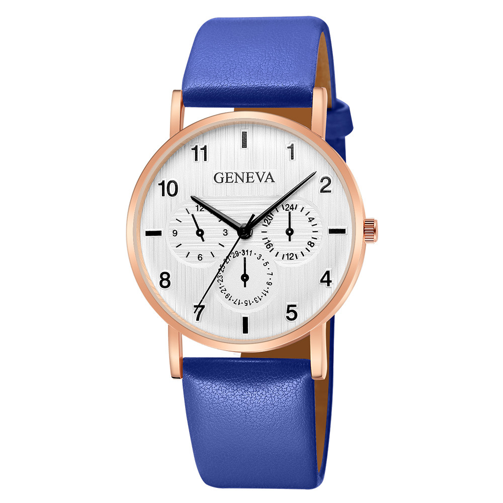 Women Watch Luxury Brand Casual Geneva Quartz Leather Strap Wrist Watch New Ladies Lover's watch relogio feminino montre 40y
