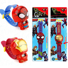 Avengers Iron Spiderman Children Watch Batman Kitty Electron