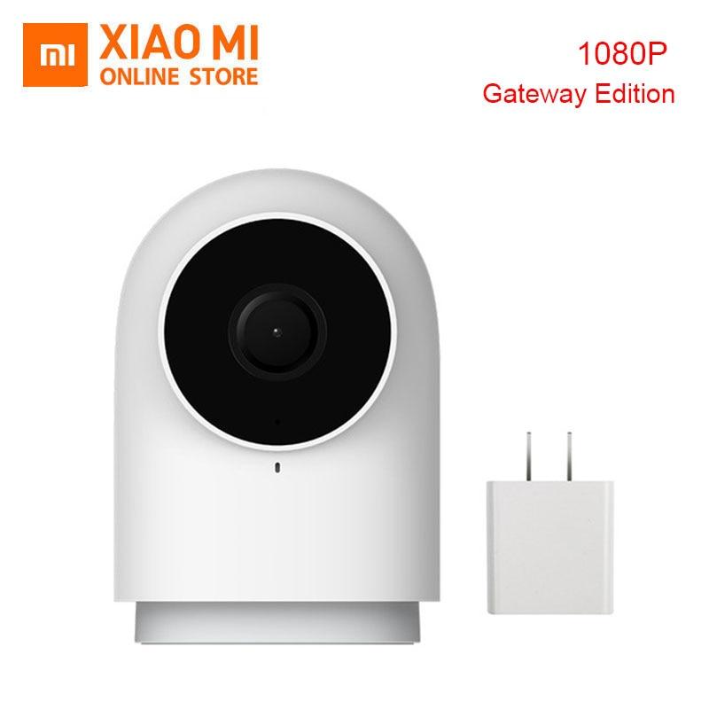 100% Original Xiao mi mi jia Aqara Câmera Inteligente G2 Trabalhar com o APLICATIVO de chamada de Voz De Alarme Zigbee USB cabo mi cam Para Xiao mi casa Inteligente