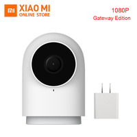 100% Original Xiaomi Mijia Aqara Smart Camera G2 Work with APP Voice call Zigbee Alarm USB cable Mi Cam For Xiaomi Smart home