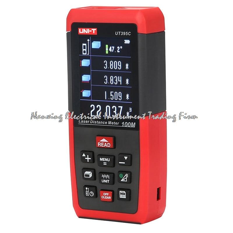 все цены на Professional Laser Distance Meters UNI-T UT395C 100M Laser Range finder Digital range finder Measure Area/volume Tool онлайн