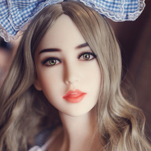 NEW NEW Top quality 53# sex doll head for silicone adult dolls, man masturbator, oral sex toy men