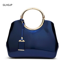 New Arrival Fashion Women Evening Bag Handbag High Quality Patent Leather Womens Bags Bridal Party Shoulder Crossbody bag
