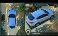 Sistema Surround View 3D vista de pájaro 360 Visión completa Alrededor Aparcamiento Coche Grabación de 4 cámaras de Seguridad en tiempo real de imagen