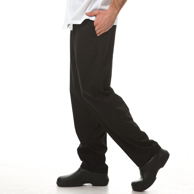 Chef female/male working pants restaurant staff waiter work pants hotel uniform pants kitchen chef pants