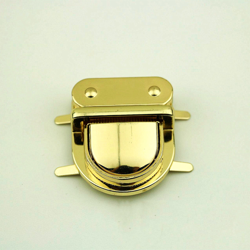 Bag-Accessories Purse Handbag Hardware Clasp Part-Closure Twist-Lock Metal DIY 1pc Practical