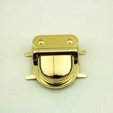 1Pc praktyczne metalowe zapięcie Turn Lock kłódka do bagażu DIY Handmade akcesoria do toreb torebka torebka część sprzętu zamknięcie tanie tanio ZUOFILY LW19021201 Chiny (kontynentalne)