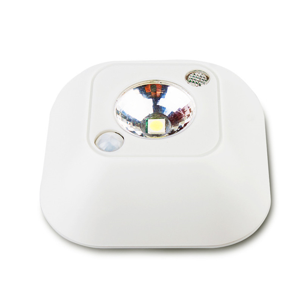 SuperNight Mini PIR Motion Sensor LED Ceiling Lamp Human Body Dual Induction Portable Closet Stairs Toilet Camping Night Light (2)
