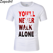 dae1d716 Zepodhf You'll Never Walk Alone T-shirt liverpool For fans all champions  2018 men's