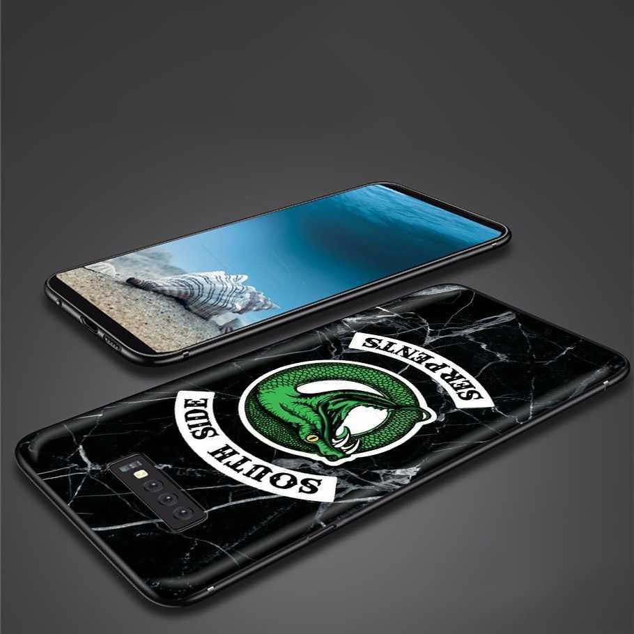 Lavaza Riverdale South Side Serpents Case for Samsung Galaxy J6 A9 A8 A7 A70 A6 A5 A50 A40 A30 A3 A10 2018