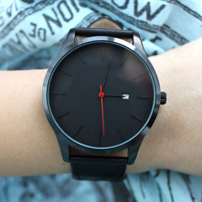 2017 New Style number hour hand simple design fashion quartz watches Luxury Wome