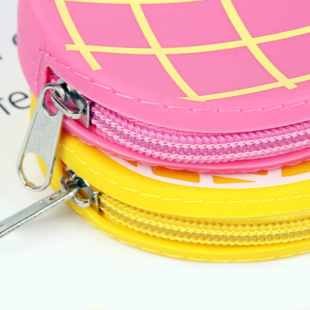 Silicone Coin Purse Bag Girls Women Girls Silicone Coin Purse Change Cash Bag Zipper Small Purse Wallets Pouch Case