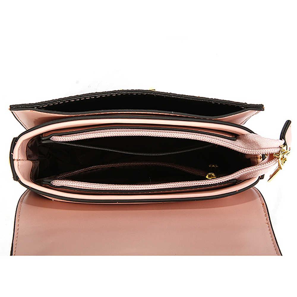 HOWRU Роскошная шикарная сумка с пайетками для женщин маленькие цепи лоскут через плечо сумки высокого качества Дизайнерские вечерние свадебные сумочки