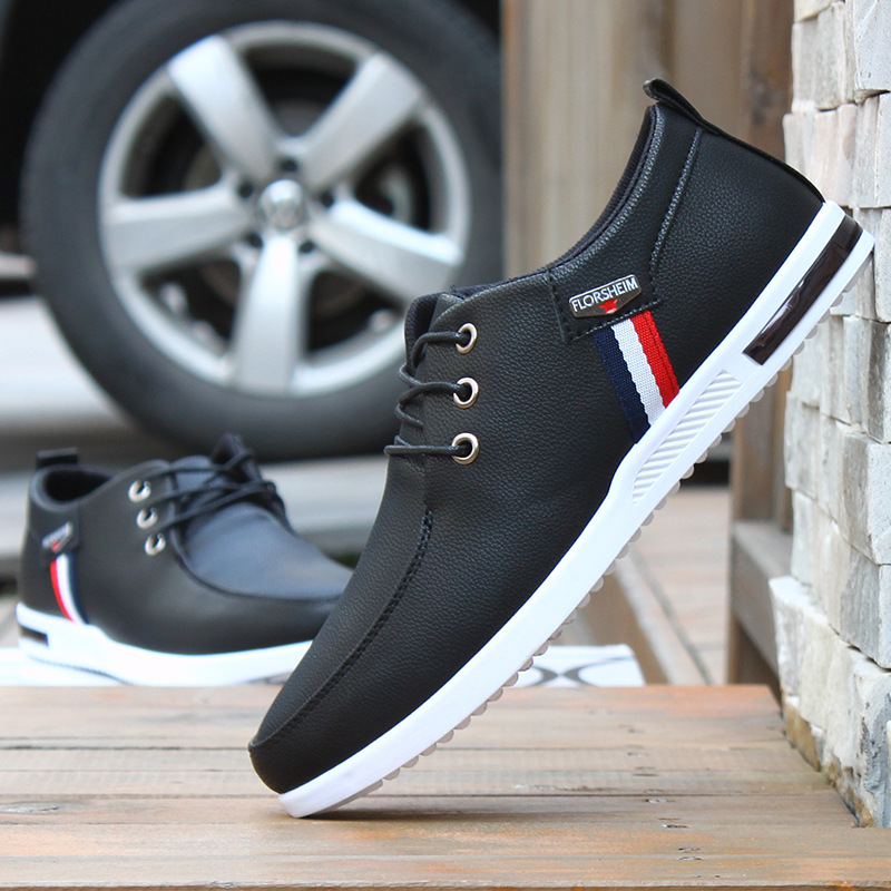 Fashion Leather Men Casual Shoes Zapatos Hombre Sneaker Soft Mans Footwear Drive Male Summer Spring Formal Office Shoes AET623