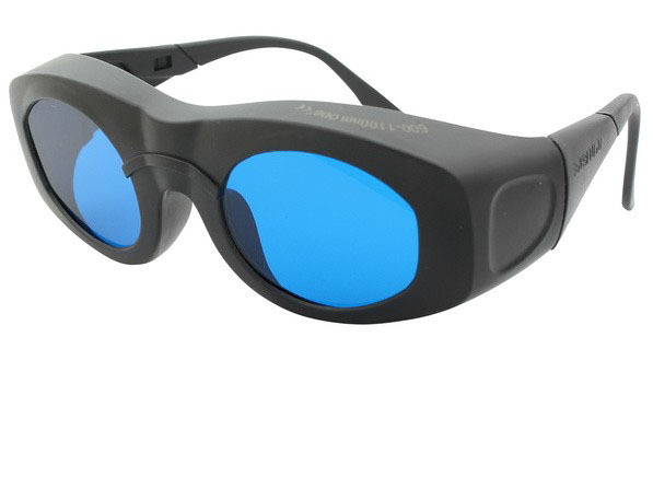 600 1100nm laser safety glasses O D 6 CE More comfortable frame