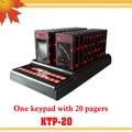 Фаст-фуд Беспроводной Ресторан Гость система подкачки KTP-20 coaster пейджер