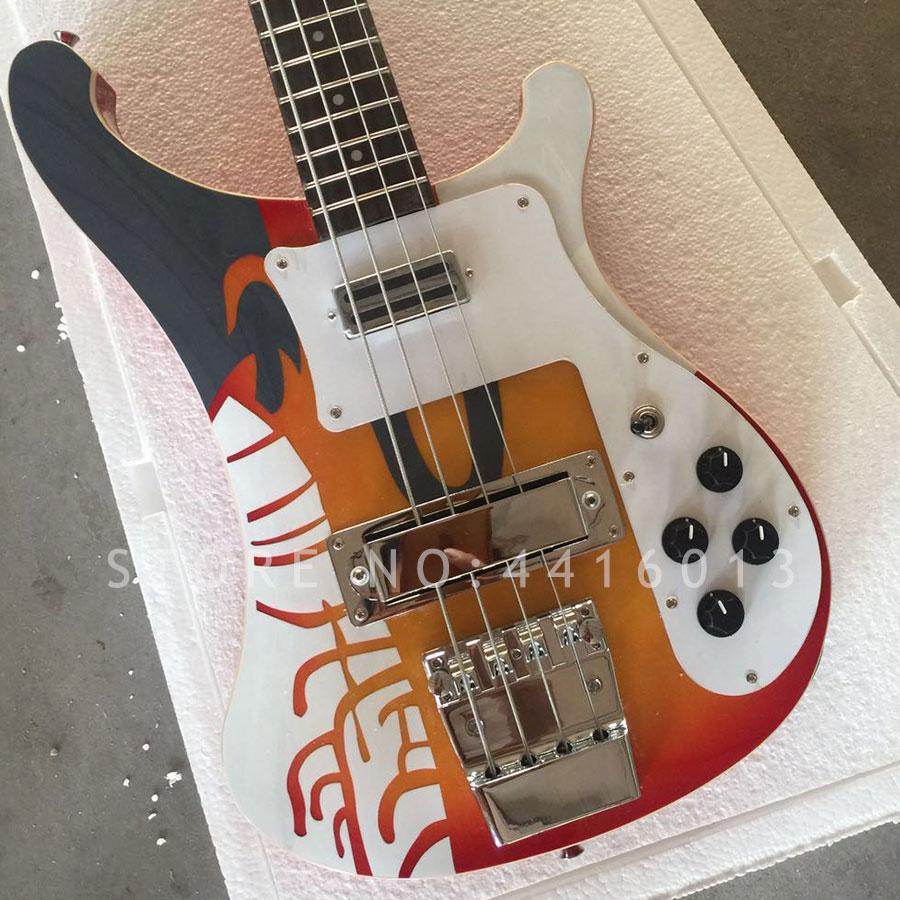 buy 2018 top quality factory custom rickenback 4003 bass guitar 4 strings. Black Bedroom Furniture Sets. Home Design Ideas