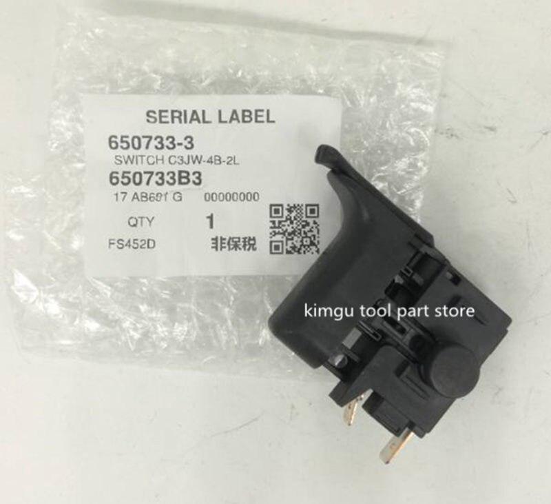 Genuine Switch For Makita 650733-3 DFS251 DFS250 FS452D DFS452