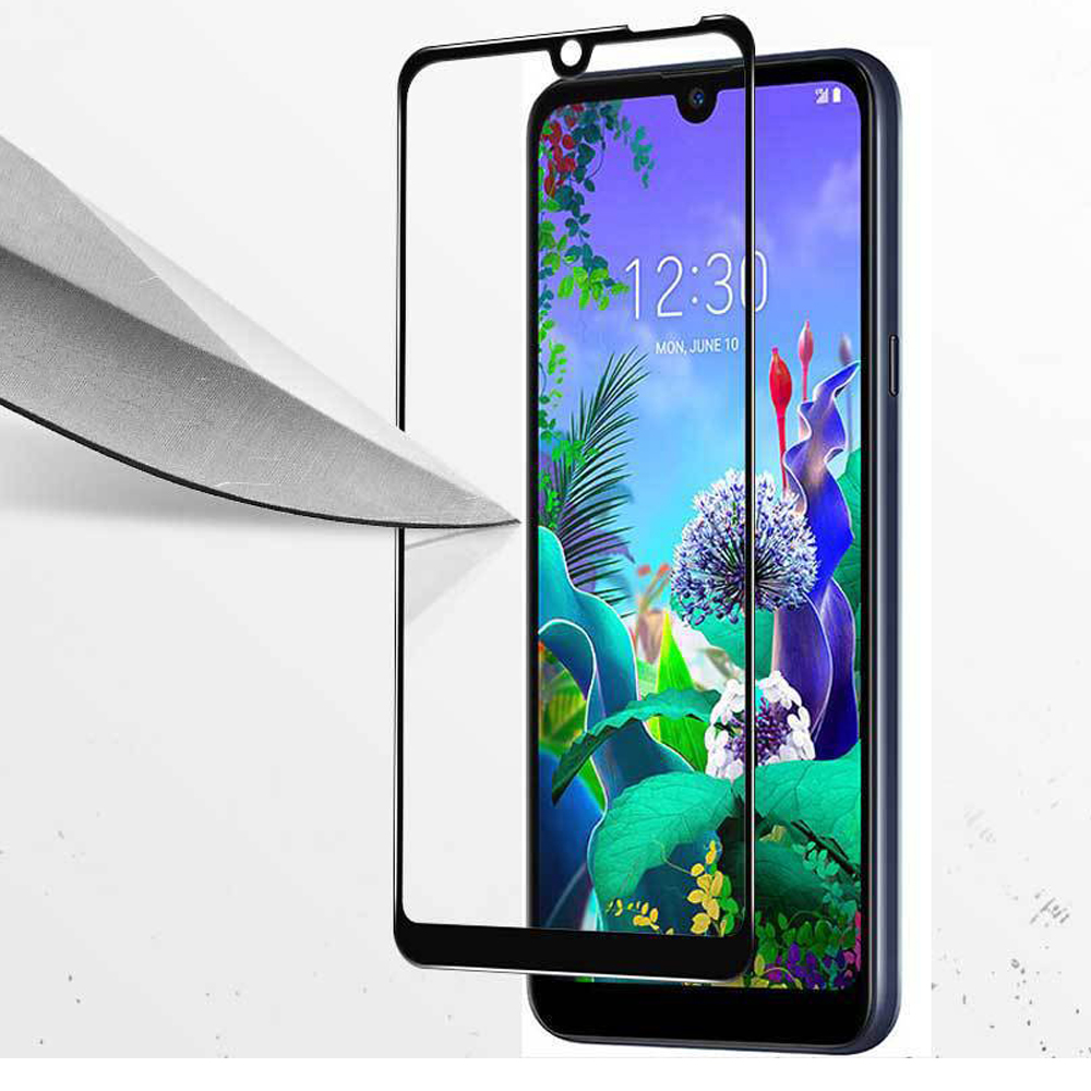Image 4 - Full Tempered Glass on the for LG Q60 Q6 Q 60 6 safety protective glass for LG q6 lgq6 M700N lgq60 screen protector 9H glas film-in Phone Screen Protectors from Cellphones & Telecommunications