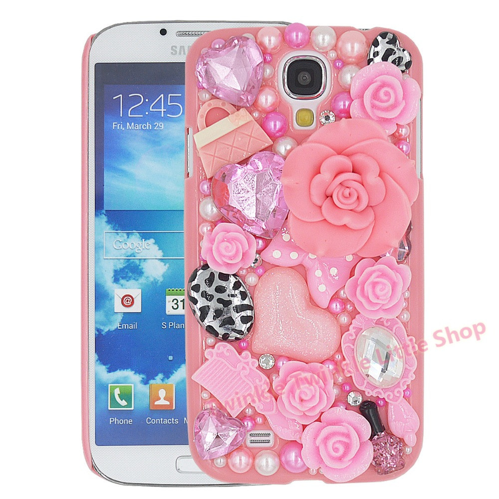 Cartoon Unicorn Horse Dynamic Paillette Glitter Stars Water Liquid Case Cover For Samsung Galaxy S4