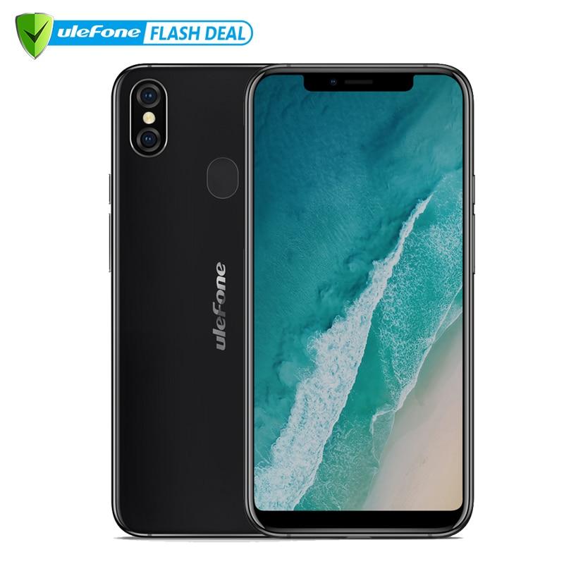 "Ulefone X 5.85"" HD+ Smartphone MT6763 Octa Core Android 8.1 4GB+64GB 16MP Dual Rear Cam 3300mAh Wireless Charge Phone"