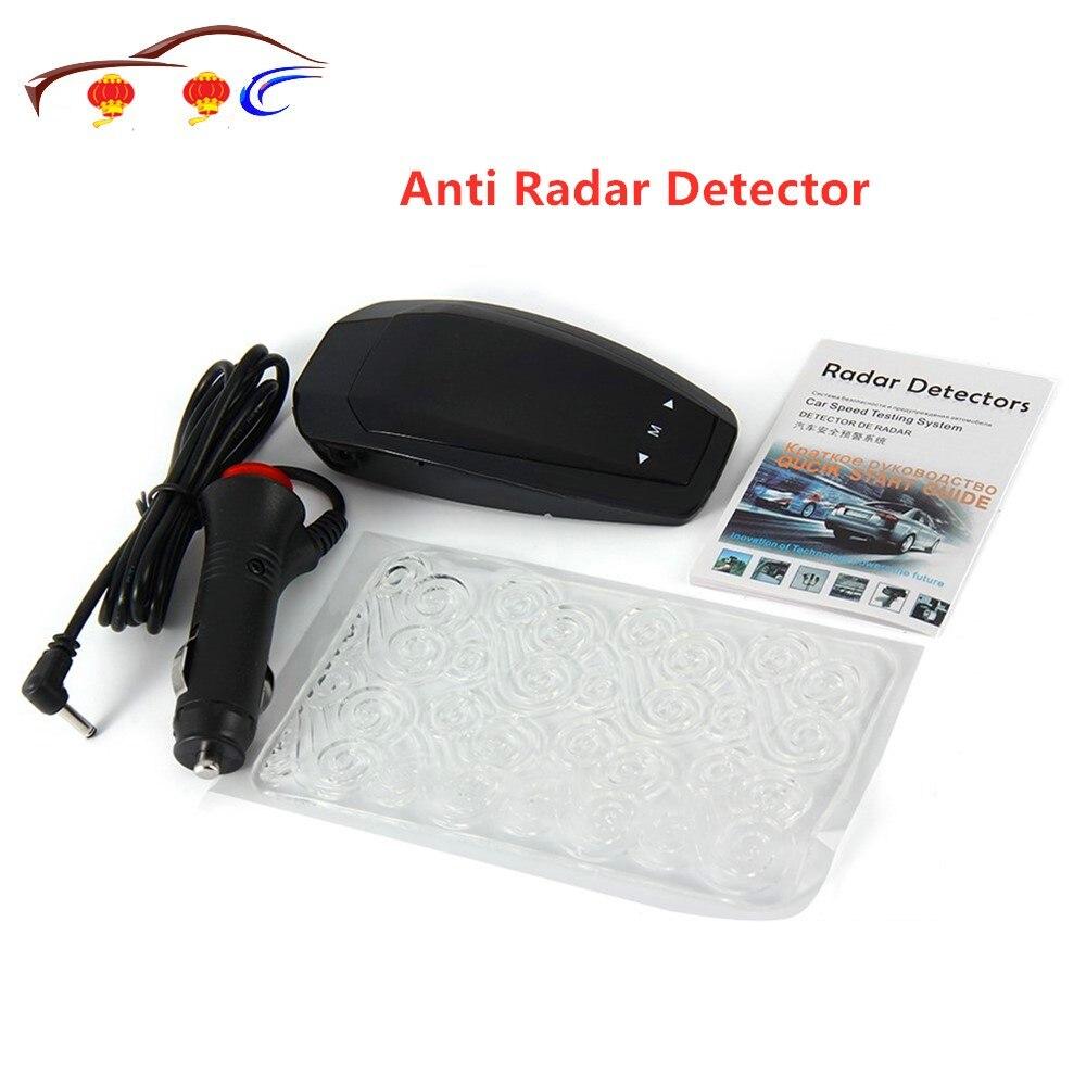 VB Car Speed Laser Anti Radar Detector Voice Alert Warning Full Band 360 Degrees Vehicle Speed LED Display Car Trucker Universal