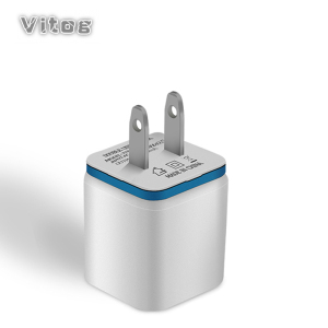 Image 1 - 5V 2.1A Dual USB Ports US EU Plug AC Wall Charger Auto Fast Charging Power Adapter For iPhone X 7 8 XS Xsmax Samsung Huawei P30