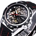 BEST SELLING Sports Watch for Men Skeleton Automatic Mechanical Wristwatch Rubber Strap Luxury Brand Designer With WATCH BOX