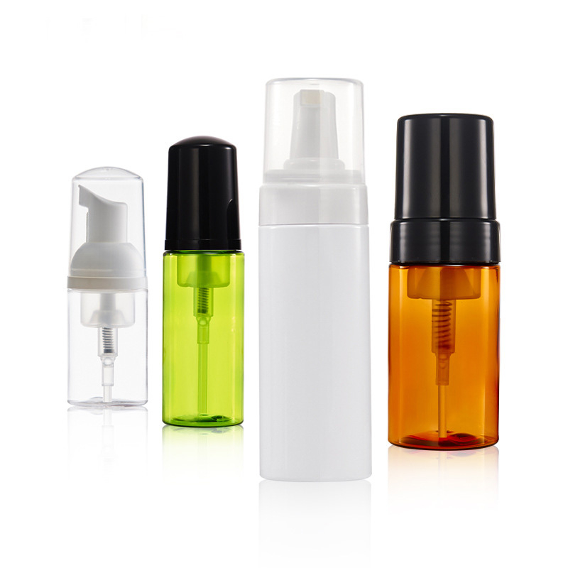 30/60/100/150ML Refillable Bottles Airless Pump Vacuum Bottle Toiletries Container Refillable Plastic Travel Cosmetic Bottle