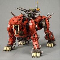 Gundam черный рыцарь Gundam серии bt Zoid EZ-006 Sabertooth DIY сборки Модель Коллекция совместных подвижная игрушка подарок робот