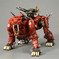 Série gundam gundam o cavaleiro negro zoid bt ez-006 sabertooth diy assembléia modelo coleção de presente brinquedo robô móvel conjunta