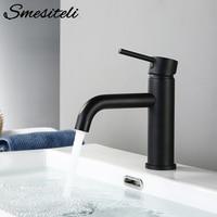 Smesiteli Basin Faucets Promotions Bathroom Faucet Round Matt Black Gold Rose Basin Mixer Tap Bathroom Small Sink Faucet