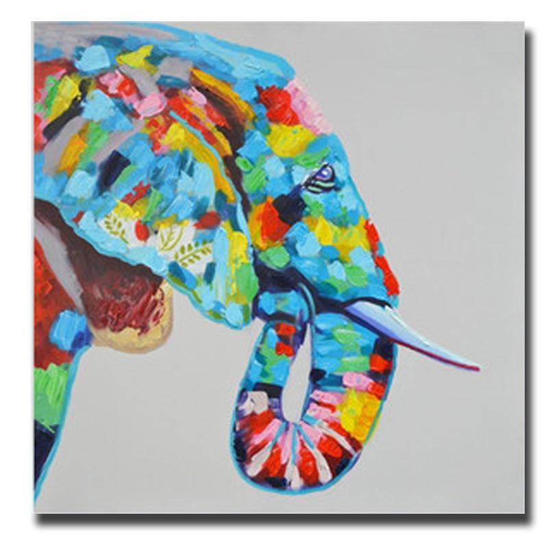 Painting Acrylic Elephant