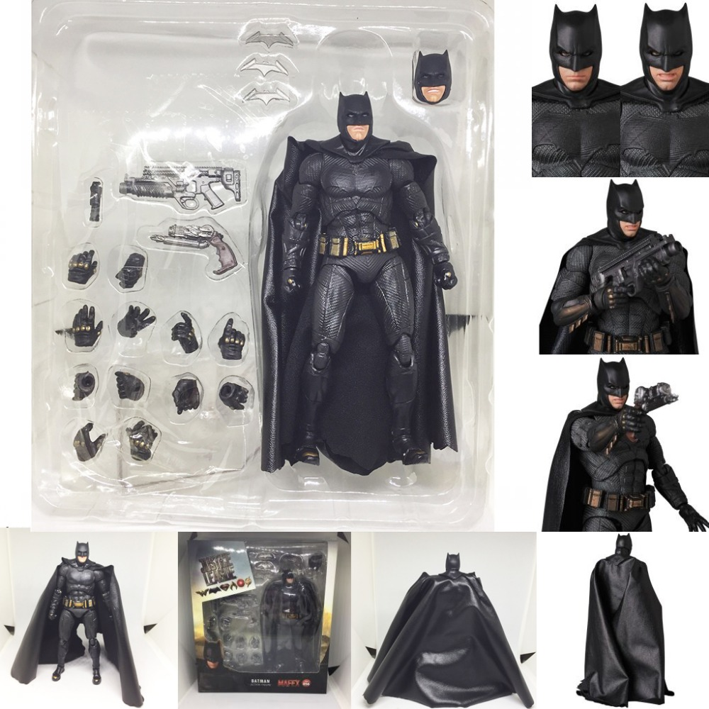 Justice League Mafex Batman Maf 056 Flash 058 Wonder Woman 048 Superman 057 Spiderman 047 Action Figure Toy Doll (61)