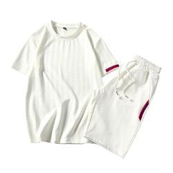 2017 Повседневная мода принт мужские футболки летний комплект Хабар с коротким рукавом костюм футболка костюм Man 2 шт. комплект oversize 3XL