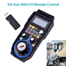 Wireless Mach3 MPG Pendant lathe Handwheel for CNC Mac.Mach 6 Axis HandWheel Machine Tool Accessories control цена