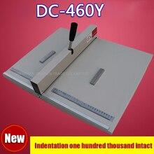 1 ШТ. 460 мм бумага creaser машина, биговки бумаги, фото биговки, DC-460Y книга крышка биговки