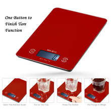 LCD Backlight Digital Kitchen Food Scale 5KG/1G Accurate Touch Screen Electronic Weight Balance for Baking Cooking Tare Function laboratory balance scale 50g 0 001g high precision jewelry diamond gem lcd digital electronic scale counting function portable