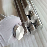 Rod of titanium grade 5 Ti 6AL 4V diameter 50mm, length 500mm ,3pcs gr5 titanium bar,FREE SHIPPING