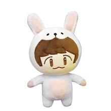 SGDOLL Korea KPOP EXO XOXO Planet#2 Plush Toy Chanyeol Chen Kai Suho Sehun DO BaekHyun Stuffed Dolls Fans Gift