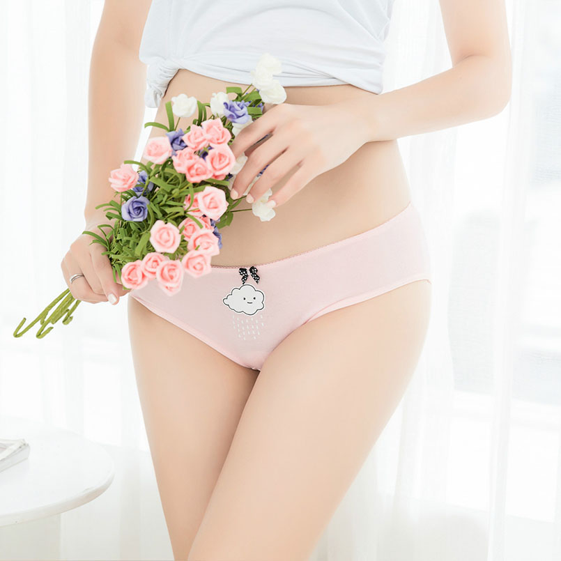 girls cotton cute panty 3-6