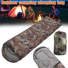 Высококачественный стильный спальный мешок конверт с шляпой для отдыха на природе кемпинга камуфляжные спальные мешки ASD88