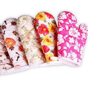 Image 1 - Aramide gants isolants pour le feu, résistants à la chaleur, pour barbecue, de cuisine, au four, pour barbecue