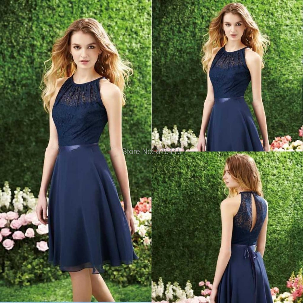High Quality Navy Blue Bridesmaids Dresses-Buy Cheap Navy Blue ...