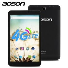 NOWOŚĆ! AOSON HD 8 cal KARTY SIM 4G phone call Tablety S8 Pro GPS Android 6.0 MTK8735B Quad-core IPS 800*1280 1 GB + 16 GB ROM mobile