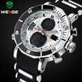 Marca superior WEIDE relojes deportivos de lujo para hombres reloj Digital analógico para hombres reloj de pulsera militar resistente al agua para hombres reloj Masculino