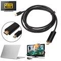 Прибл. 186 см/6ft Thunderbolt Mini DisplayPort DP Мужчина к HDMI Мужской Конвертер Адаптер Кабель Для Apple Macbook Mac Air Pro